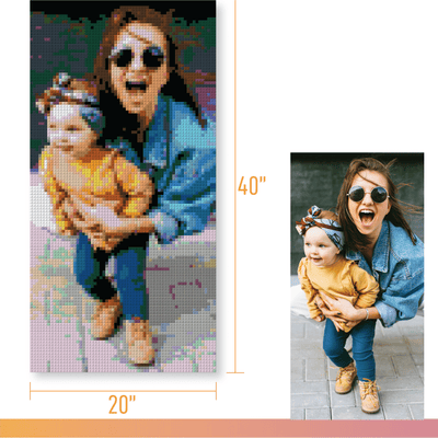 PIXART -  Personalized Kit - 20x40 - lovepixart.com -