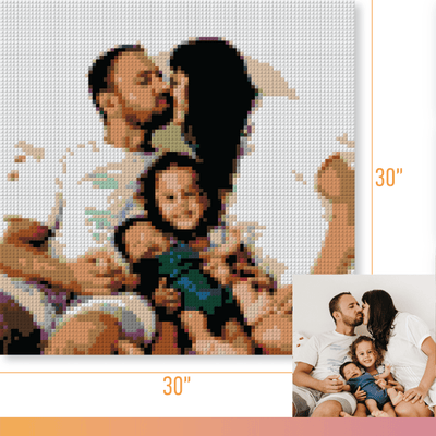 PIXART -  Personalized Kit - 30x30 - lovepixart.com -