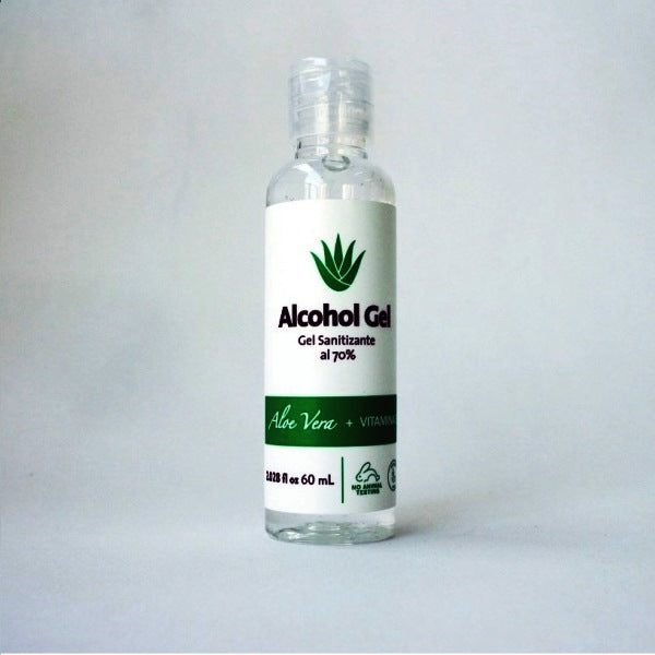 ALCOHOL GEL 70% CON ALOE VERA 60 ML (1 UN.)