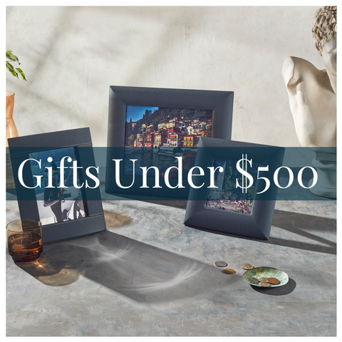 Luxury leather gift guide under $500