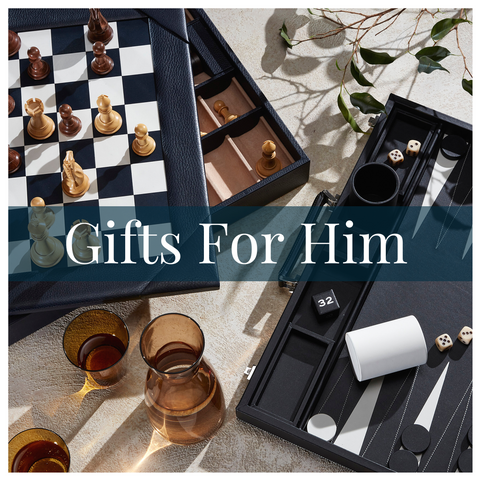Luxury leather gift guide for him