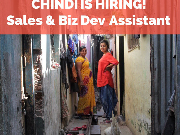 Chindi is hiring!