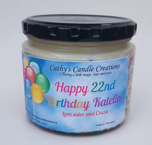 Specialty Candle - Birthday Candle