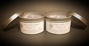 Magical Candle - Midnight Sky with amethyst
