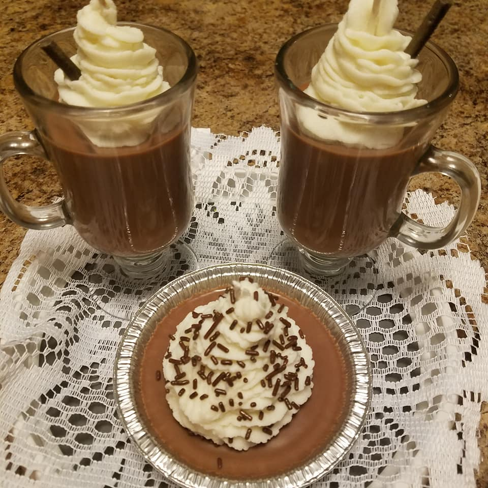 Hot Chocolate with Whipped Topping