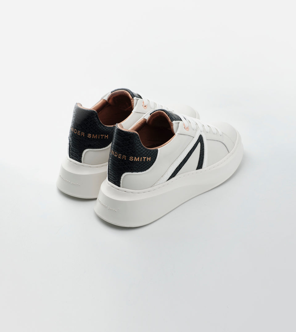 CARNABY WOMAN WHITE BLACK