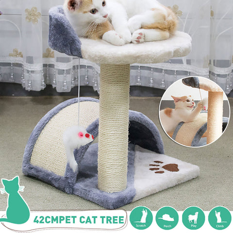 Fast Domestic Delivery Cat Tree Scratcher Animal Funny Scratching Post