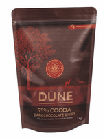 DÙNE 55% COCOA DARK CHOCOLATE CHIPS, 1kg