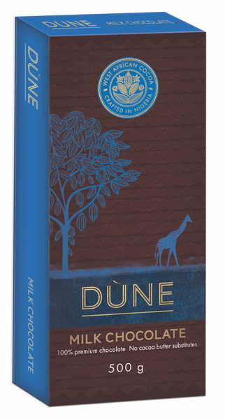DÙNE MILK CHOCOLATE, 500g