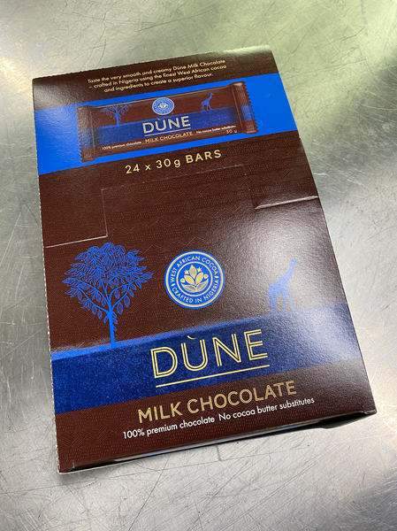 DÙNE MILK CHOCOLATE, (30g x 24)
