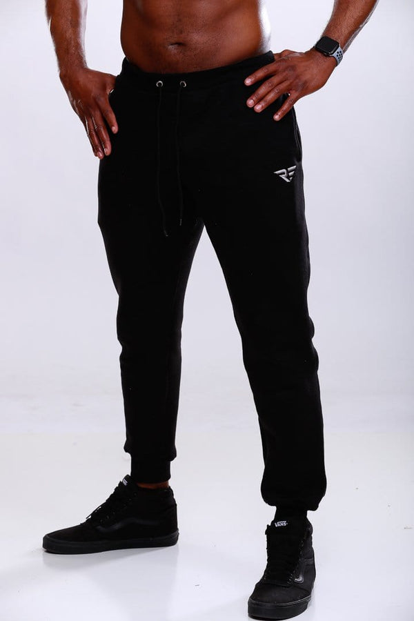 Revolutionary Joggers - Black/Silver