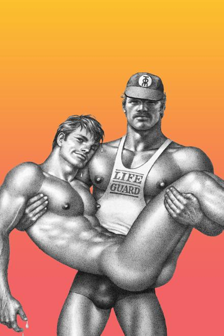 Tom of Finland® Lifeguard Swimsuit - Slick It Up