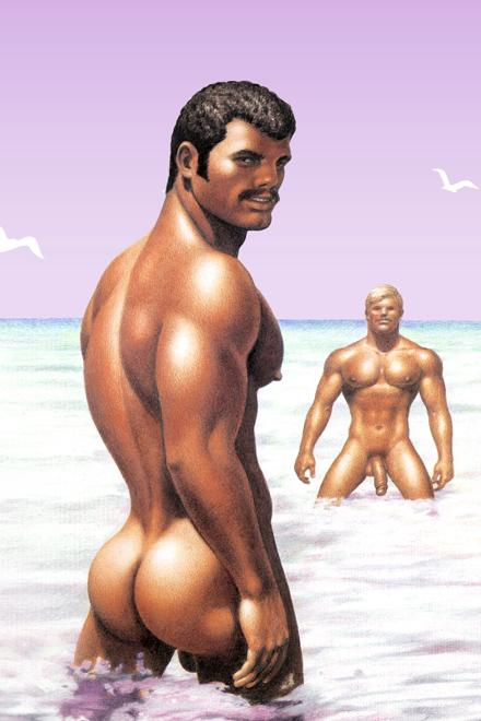 Tom of Finland® Hunky Swimsuit - Slick It Up