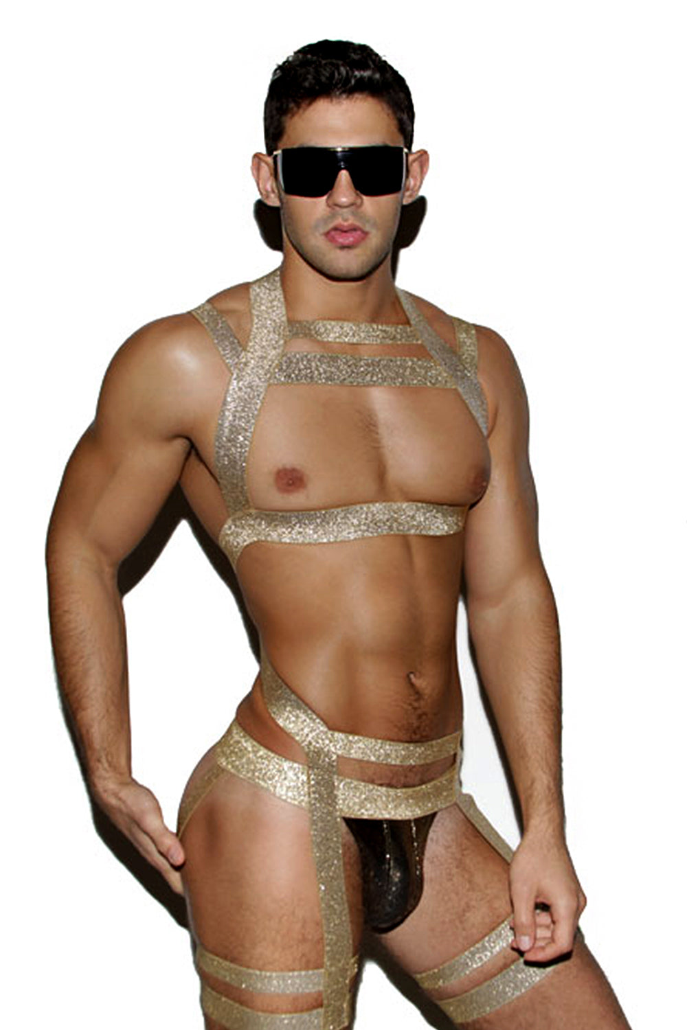 Gold Body Harness