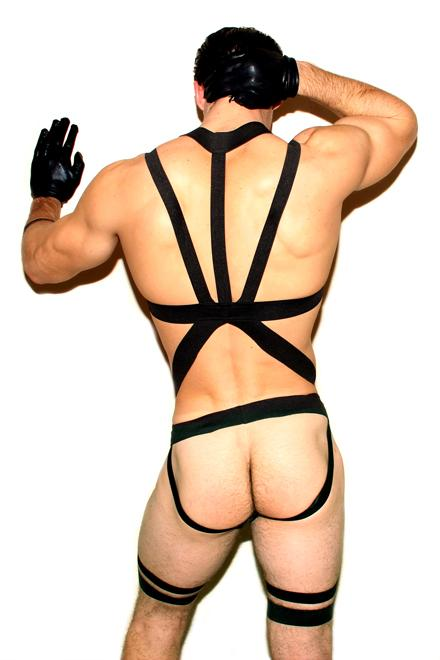 TOTAL PACKAGE: BODY HARNESS - Slick It Up
