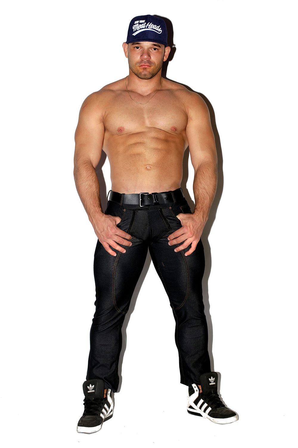 BLACK MEGA STRETCH DENIM