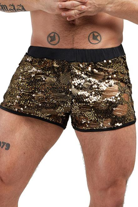 Sale! Egyptian Sequin Shorts - Slick It Up