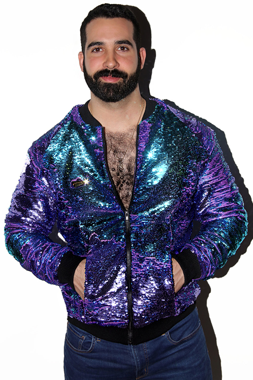 Limited Edition Fantasy Jacket (with Stroke and Change Sequins)