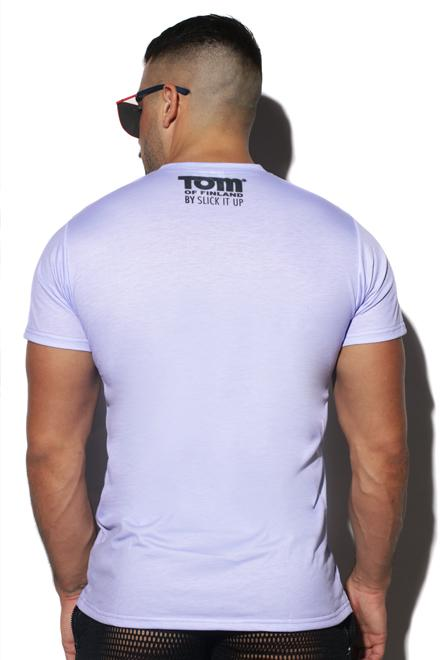 "Tom of Finland® Collaborative ""Man Worship"" Tee - Slick It Up"