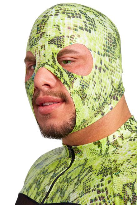 Slither Hood (Green Iridescent) - Slick It Up
