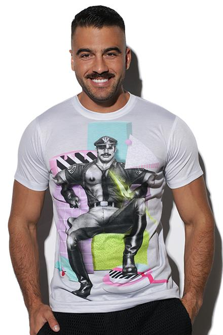 "Tom of Finland® Collaborative ""80's God"" Tee - Slick It Up"