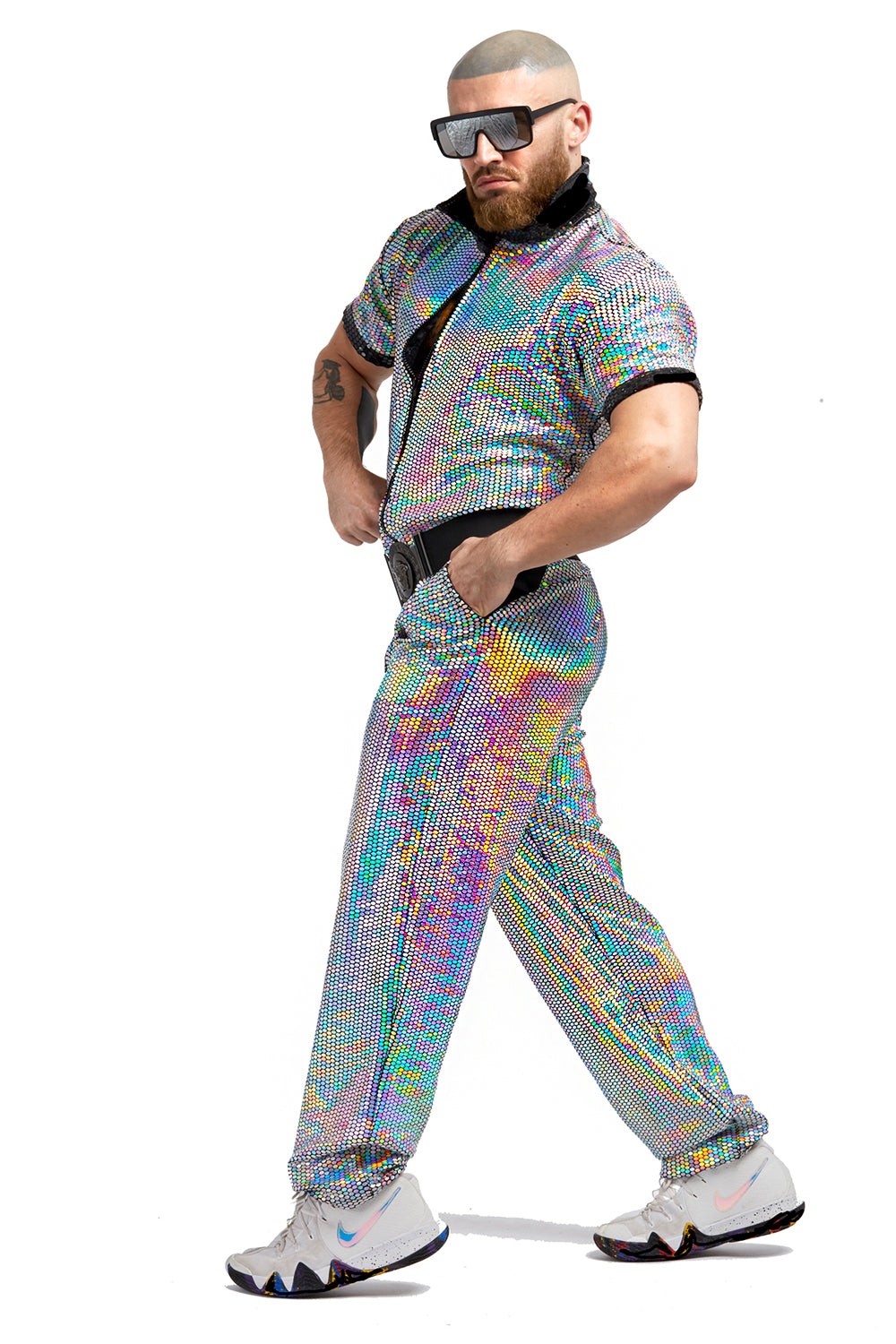 Pure Hologram Jumpsuit