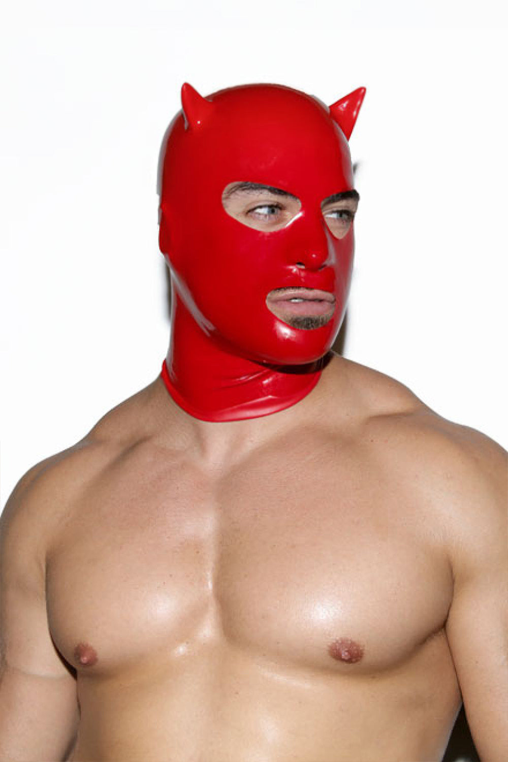 Limited Edition Red Devil Latex Mask