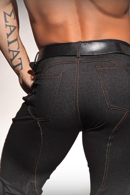 "BLACK ""STREET LEGAL"" MEGA STRETCH DENIM - Slick It Up"