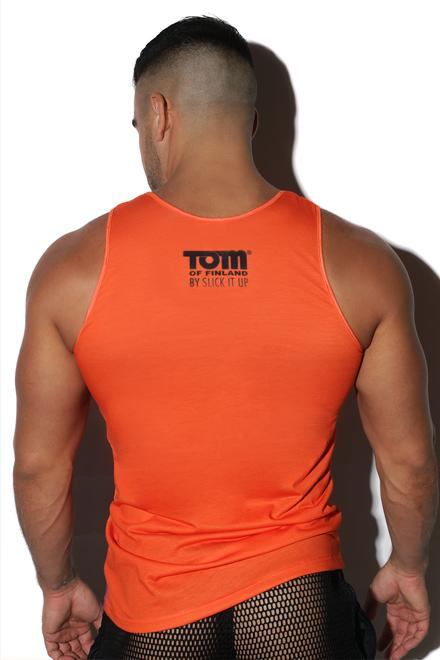 "Tom of Finland® Collaborative ""Protect and Serve"" Tank - Slick It Up"