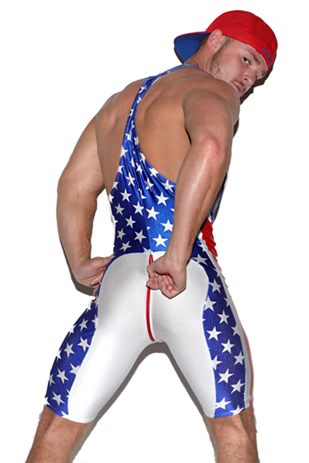Zip Butt All Star Singlet