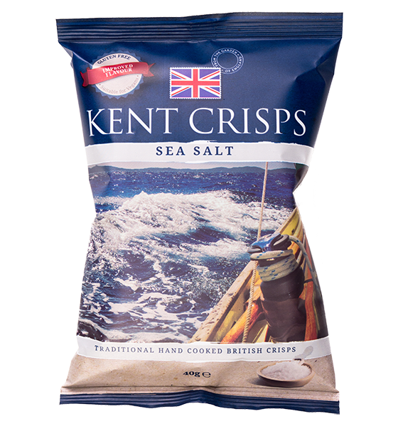 Sea Salt Crisps 150g