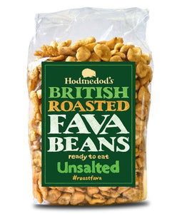 ROASTED FAVA BEANS - UNSALTED