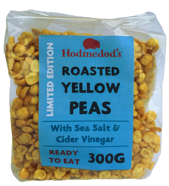 ROASTED YELLOW PEAS - SEA SALT & CIDER VINEGAR