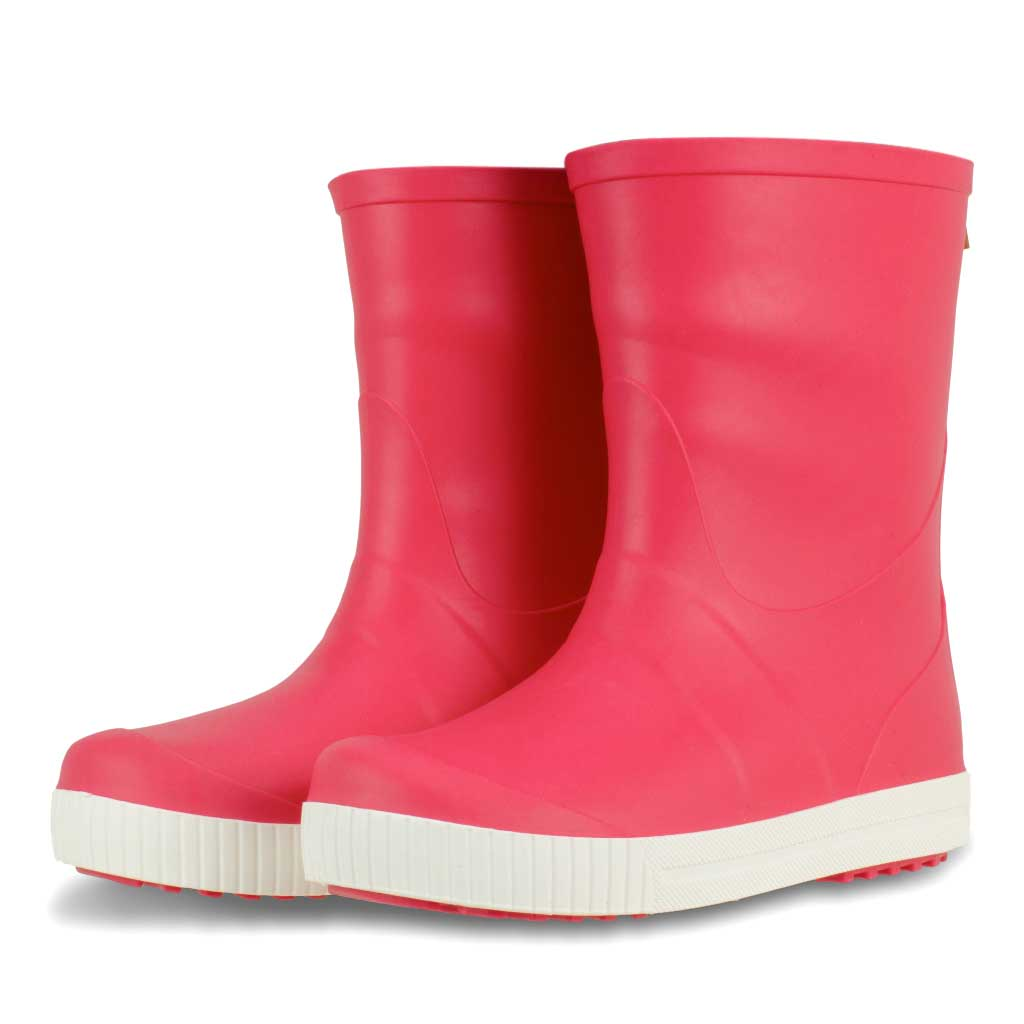 Wave Junior Wellies Coral - Term Footwear