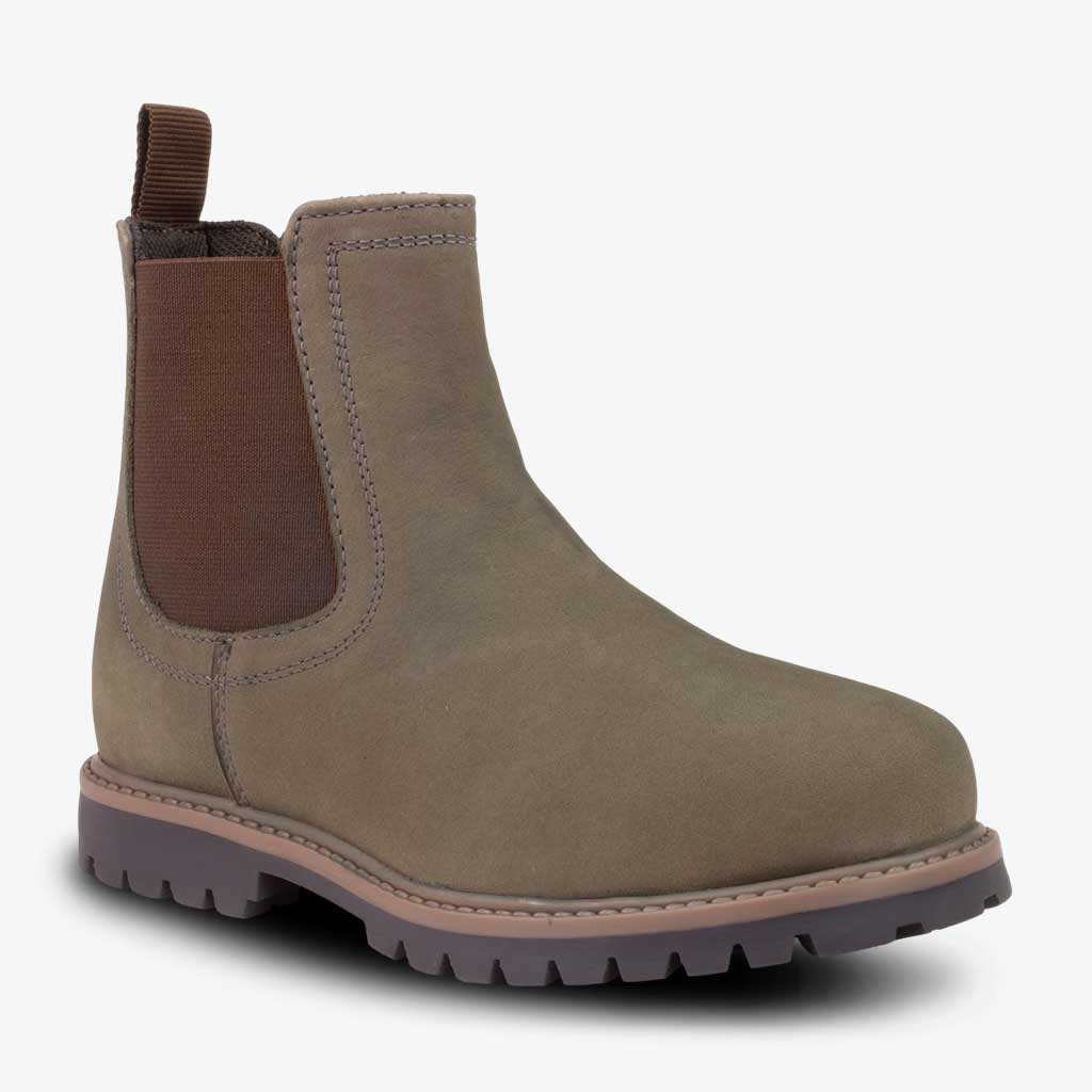 CLASSIC CHELSEA BOOTS IN GREY - Term Footwear