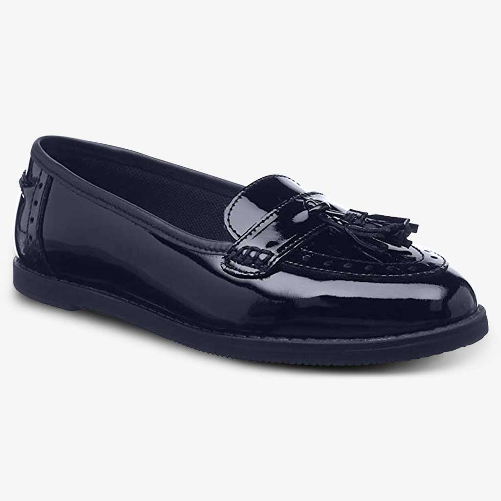 HARLEY PATENT GIRLS LOAFER - Girls School Shoes