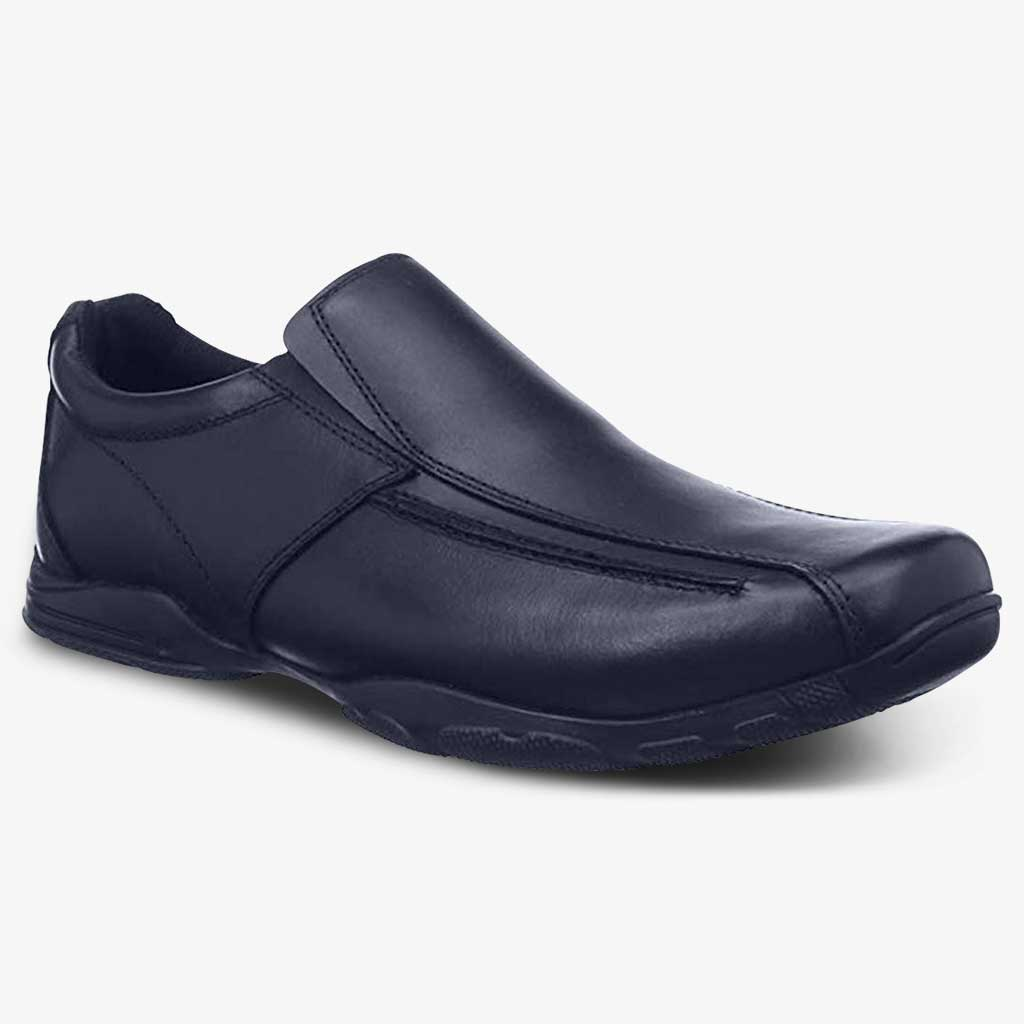 BOYS HODDLE SLIP ON SCHOOL SHOE - Term Footwear