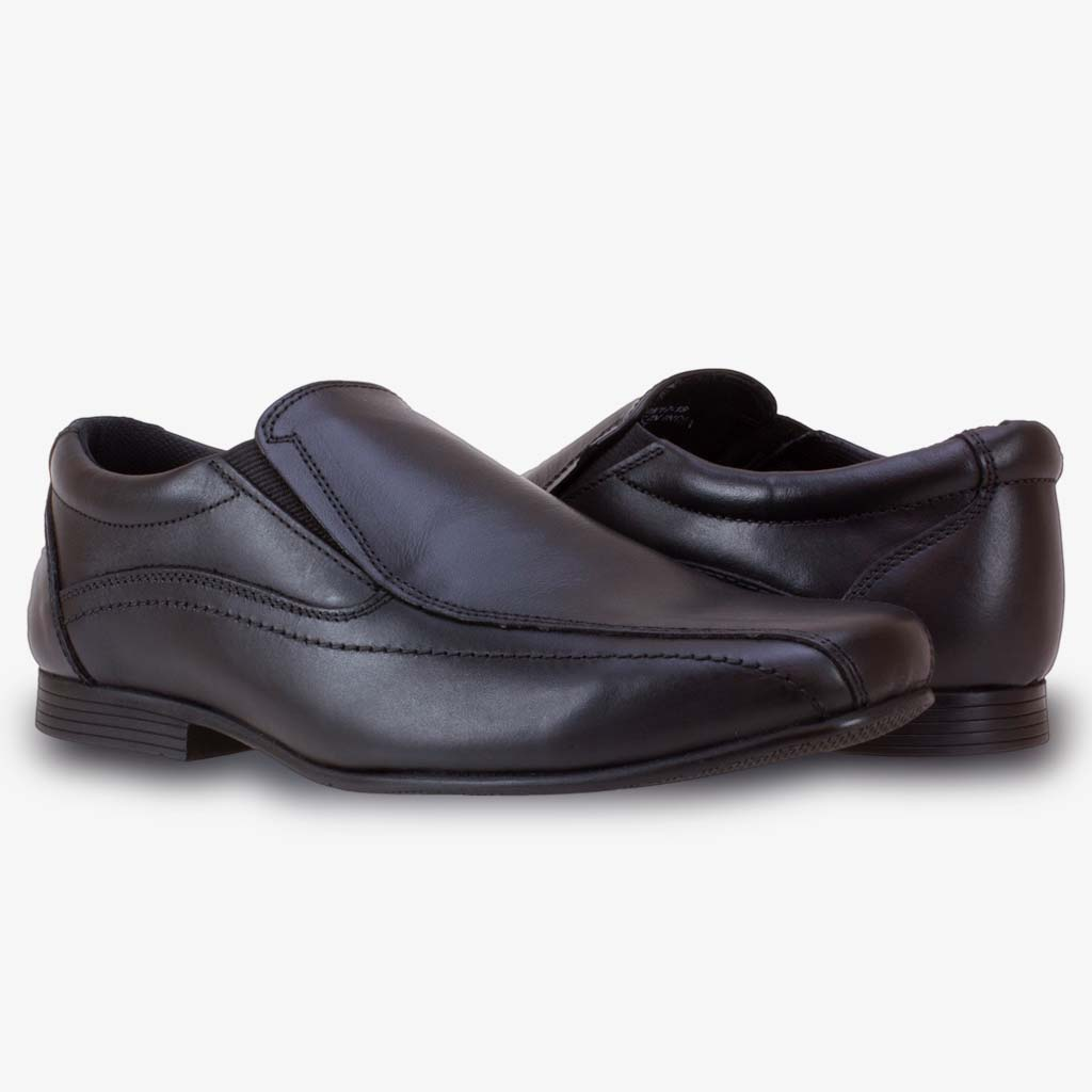 STAN SENIOR BOYS SLIP ON SCHOOL SHOE - Term Footwear