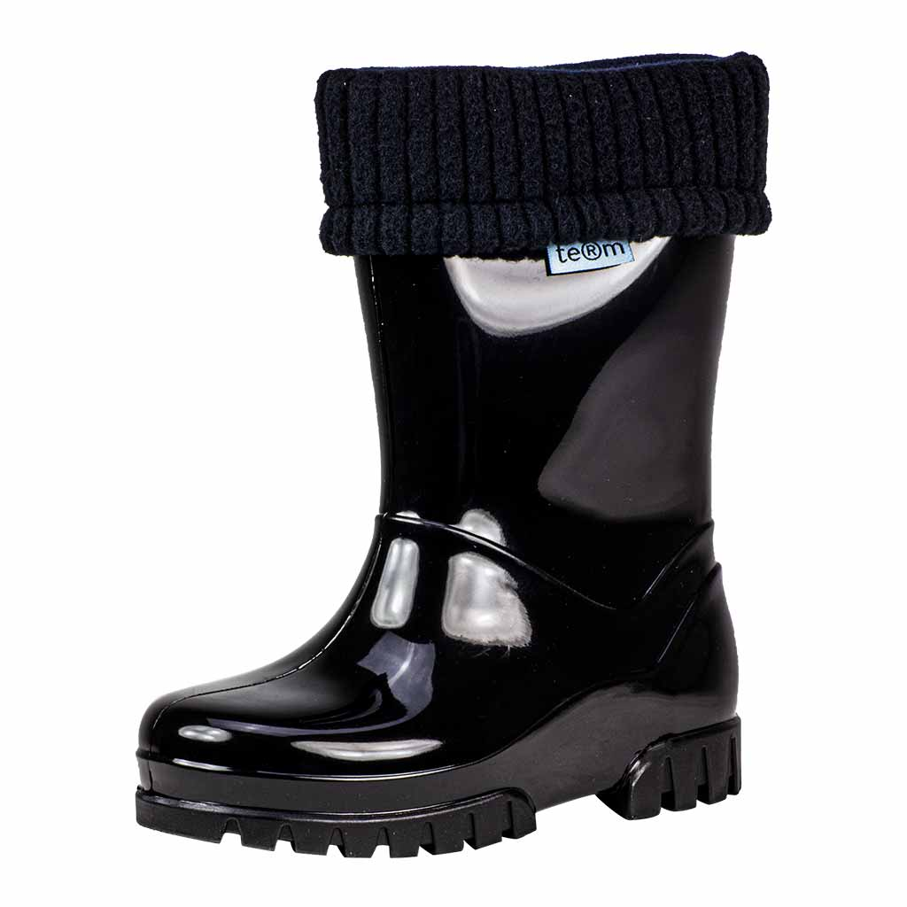 Rolltop Wellies Black - Welly