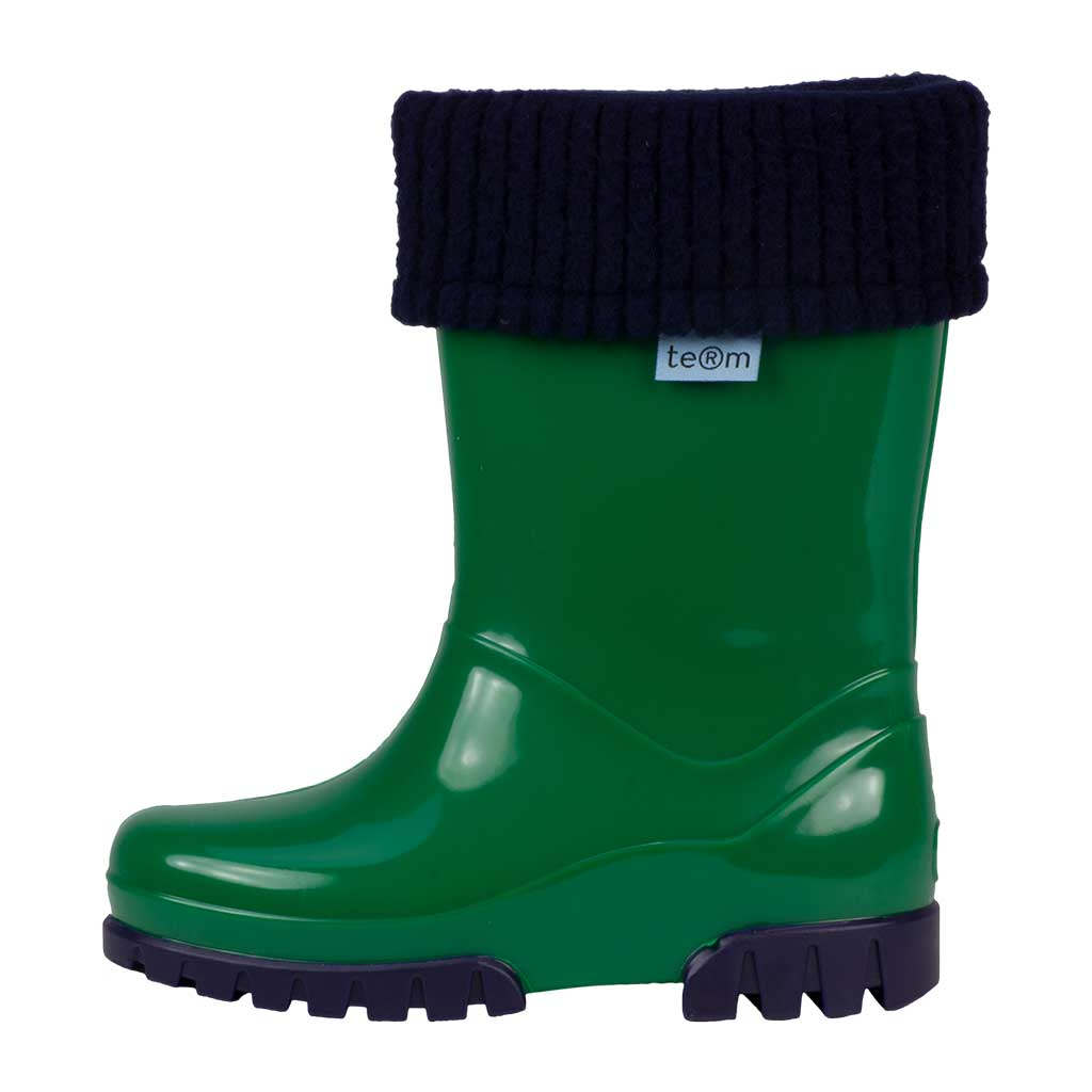 Rolltop Wellies Green - Welly