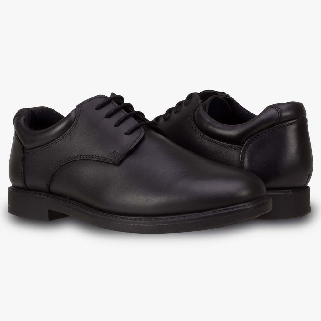 TOM SMART BOYS LACE LEATHER SCHOOL SHOE - Term Footwear