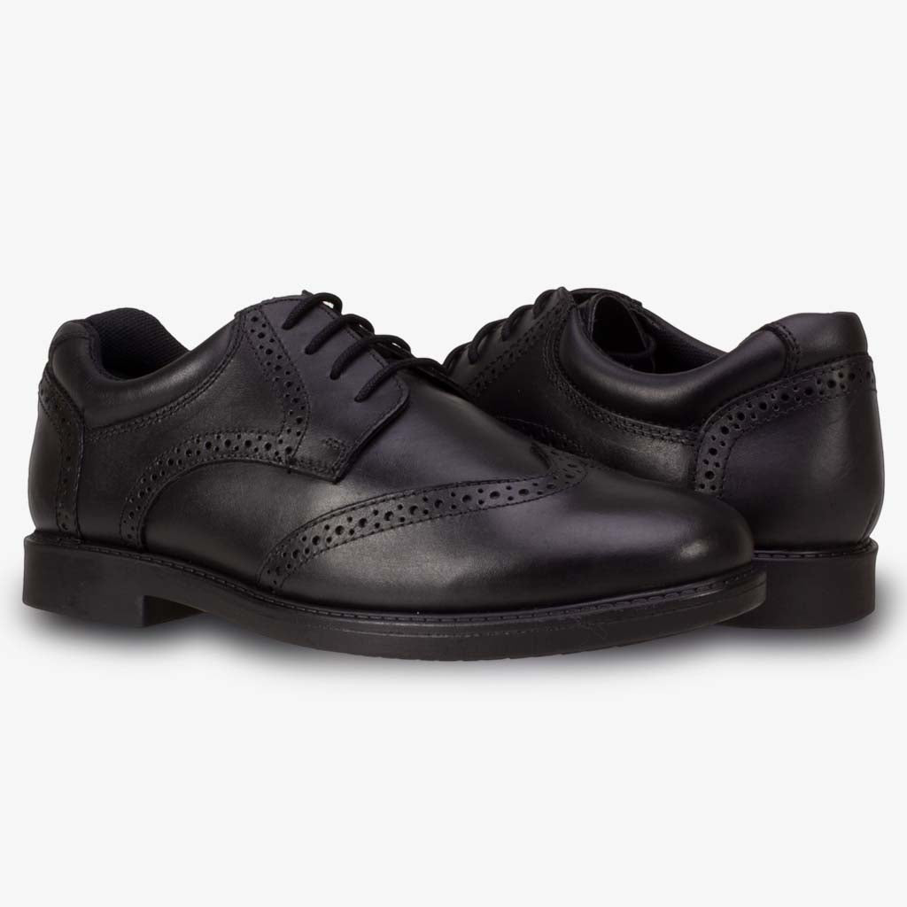 TOM SMART BOYS LACE UP BROGUE SCHOOL SHOE - Term Footwear