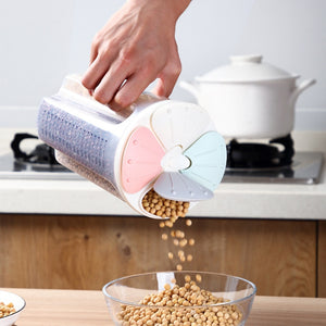 MULTIPLE CEREAL/GRAINS STORAGE CONTAINER