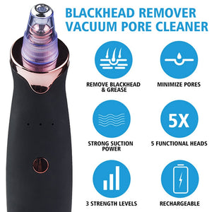 Blackhead Remover Extractor Nose Cleansing Face Acne