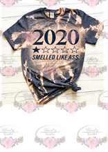 Load image into Gallery viewer, 2020 Smelled Like Ass Bleached Shirt