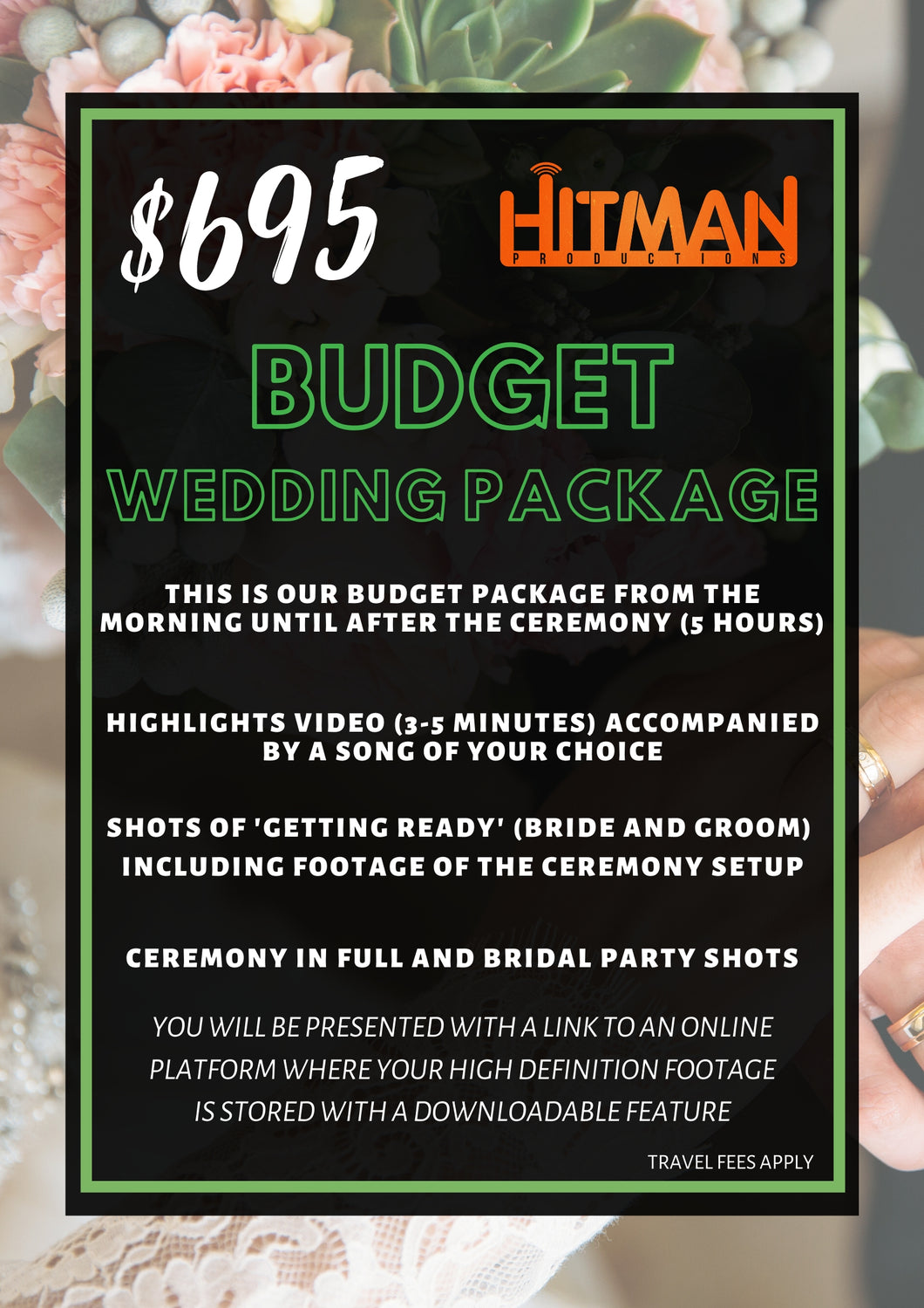 Budget Wedding Package