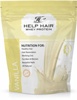 Combo includes Whey Protein and Vitamins - Help Hair