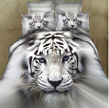 Load image into Gallery viewer, A three-dimensional white tiger