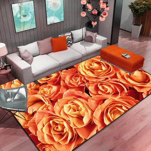 High Quality Art Carpet For Living Room
