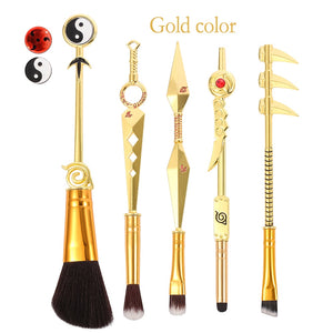 Hot Cosplay Naruto Makeup Brushes Set Sharingan